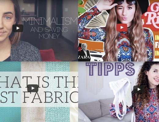 Minimalismus im kleiderschrank j ckle und h sle for Youtube minimalismus