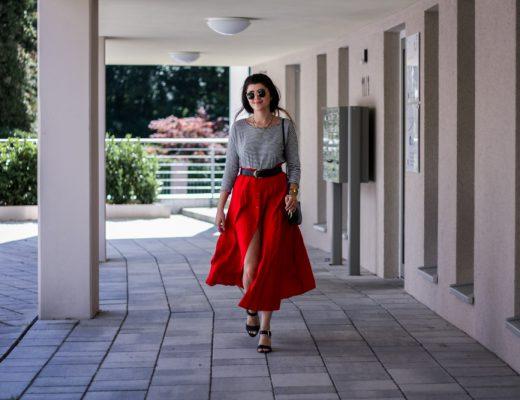 vintage rock rot glore shirt armedangels streifen stripes summer look blogger fair fashion-1